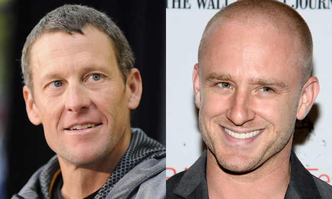 Lance Armstrong y Ben Foster