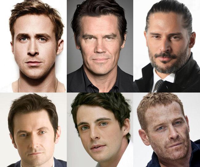 Ryan Gosling, Josh Brolin, Joe Manganiello, Richard Armitage, Matthew Goode y Max Martini