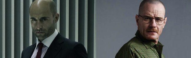 Mark Strong y Bryan Cranston