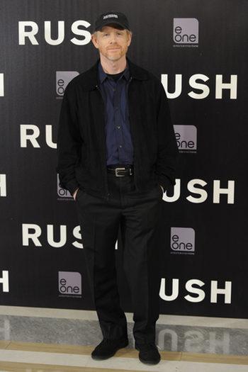 Ron Howard presenta 'Rush':