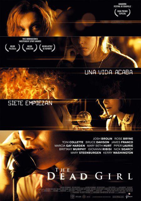 Cartel en español de 'The dead girl'