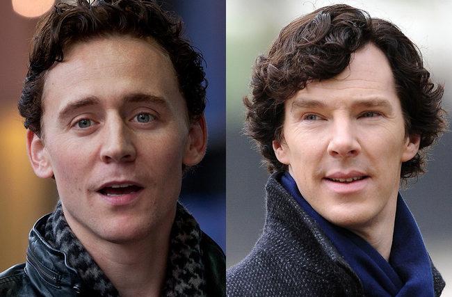 Hiddleston y Cumberbatch