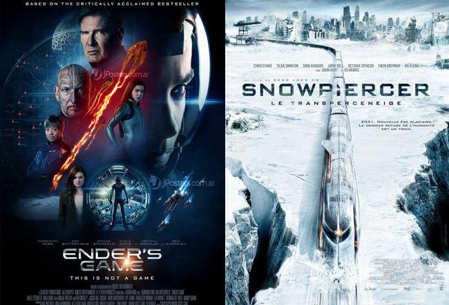Nuevos pósters de 'El Juego de Ender' y 'Snowpiercer'
