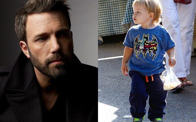 Ben Affleck y su hijo Samuel