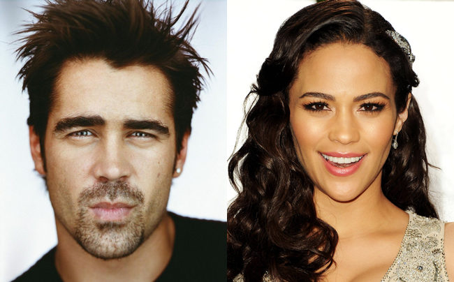 Colin Farrell y Paula Patton