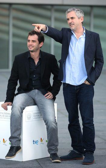 Jonás Cuarón y Alfonso Cuarón en el Festival de San Sebastián