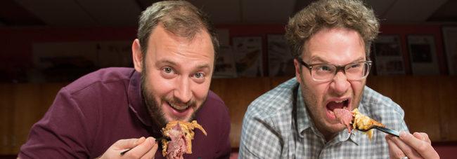 Seth Rogen y Evan Goldberg