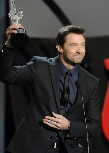 Hugh Jackman recibe su Premio Donostia