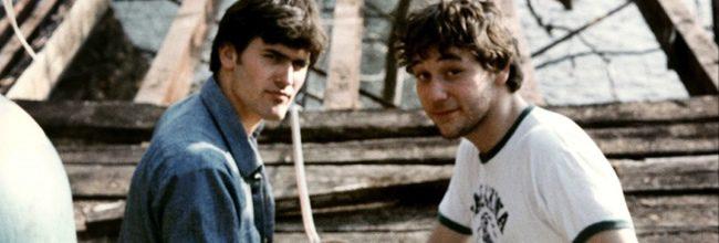 Bruce Campbell y Sam Raimi