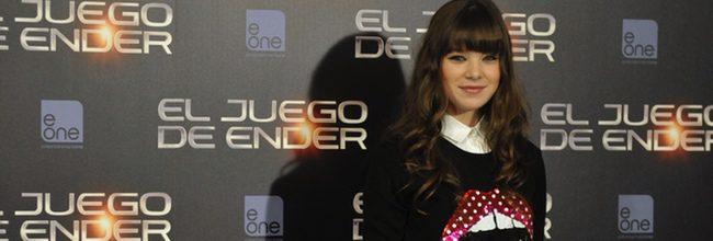Hailee Steinfeld en Madrid