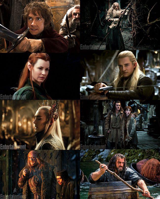 Nuevas Imágenes De Los Protagonistas De El Hobbit La Desolación De Smaug Ecartelera