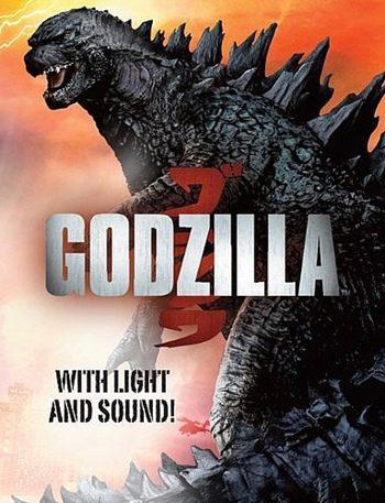 La nueva imagen de 'Godzilla' es revelada en la portada de un libro