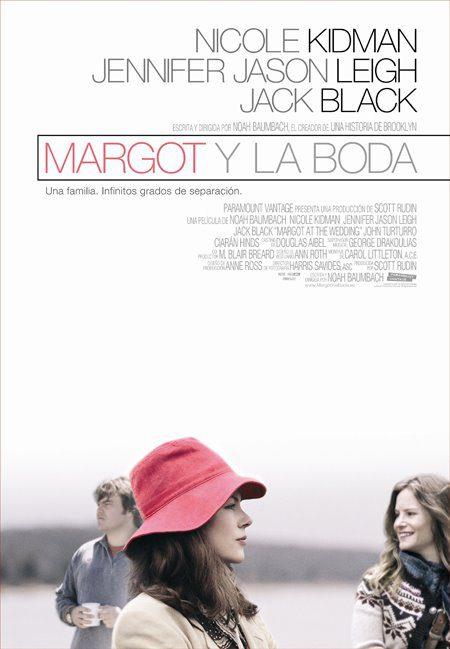 Cartel en castellano de 'Margot y la boda'