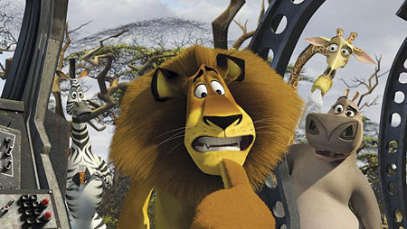 Primer vistazo a la secuela de 'Madagascar'