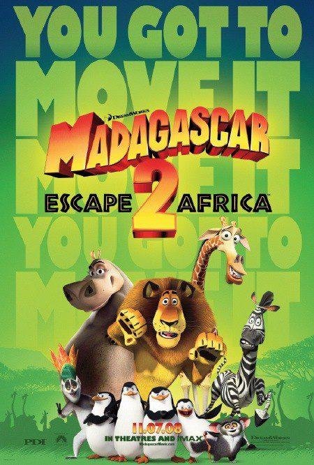 Primer póster de 'Madagascar: escape 2 Africa'