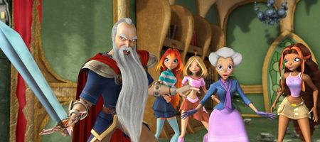 Unas cuantas imágenes de 'Winx: el secreto del reino perdido'