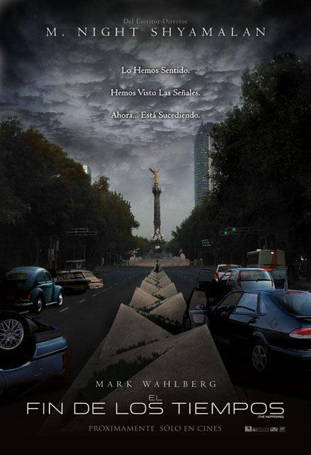 Tres carteles mexicanos para 'El incidente'