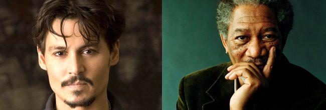 Teasers tráilers de 'Transcendence' con Johnny Depp y Morgan Freeman