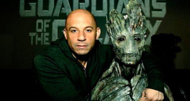 Vin Diesel será Groot en 'Guardianes de la Galaxia'