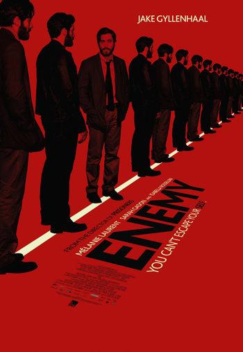 Jake Gyllenhaal en el póster de Enemy