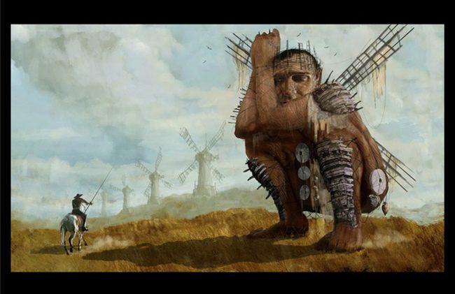 Concept Arts de 'Bioshock' y 'The Man Who Killed Don Quixote'