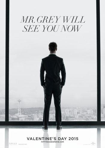 Primer teaser póster de 'Cincuenta sombras de Grey' con Jamie Dornan en la piel del deseado empresario