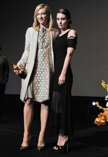 Cate Blanchett y Rooney Mara en el Festival de Santa Barbara