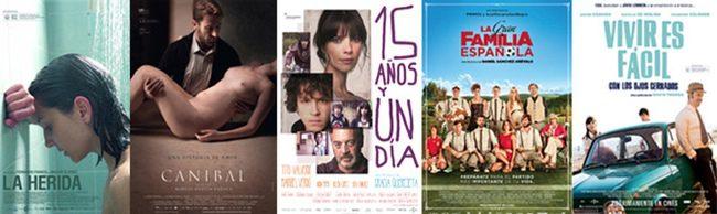 Nominadas a mejor película en los Goya 2014