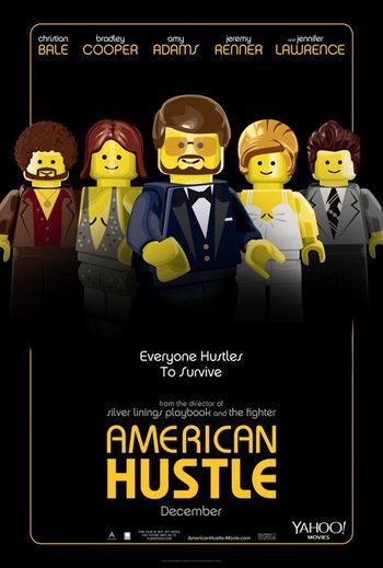 La gran estafa americana en formato LEGO