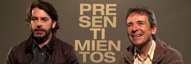 Eduardo Noriega y Santiago Tabernero en 'Presentimientos'