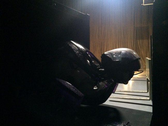 Un centinela en el rodaje de X-Men: Días del futuro pasado