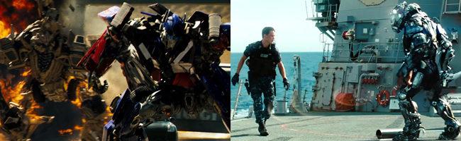 'Transformers' y 'Battleship'