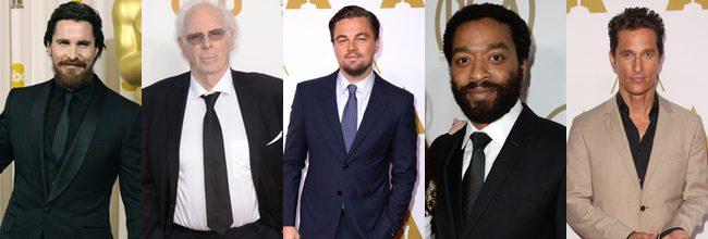 Oscar 2014: Interpretaciones protagonistas nominadas