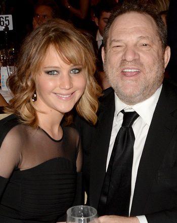 Jennifer Lawrence - Harvey Weinstein