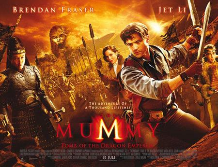 Otro cartel de 'La momia: la tumba del emperador Dragón'