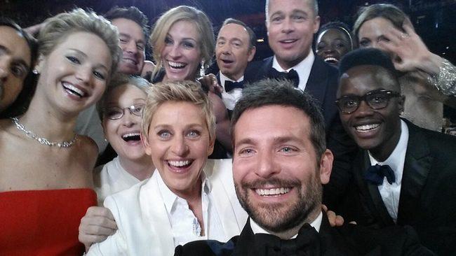 Selfie de los Oscar 2014, versión Ellen DeGeneres