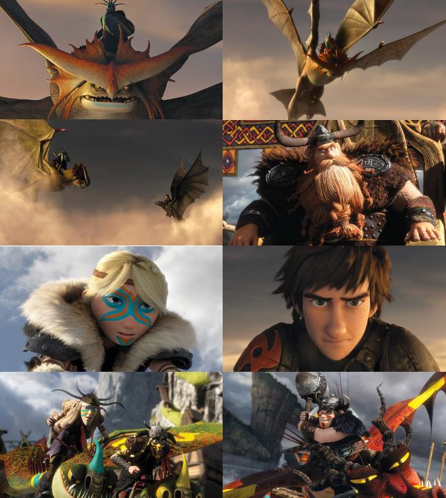 Como entrenar a tu dragon2