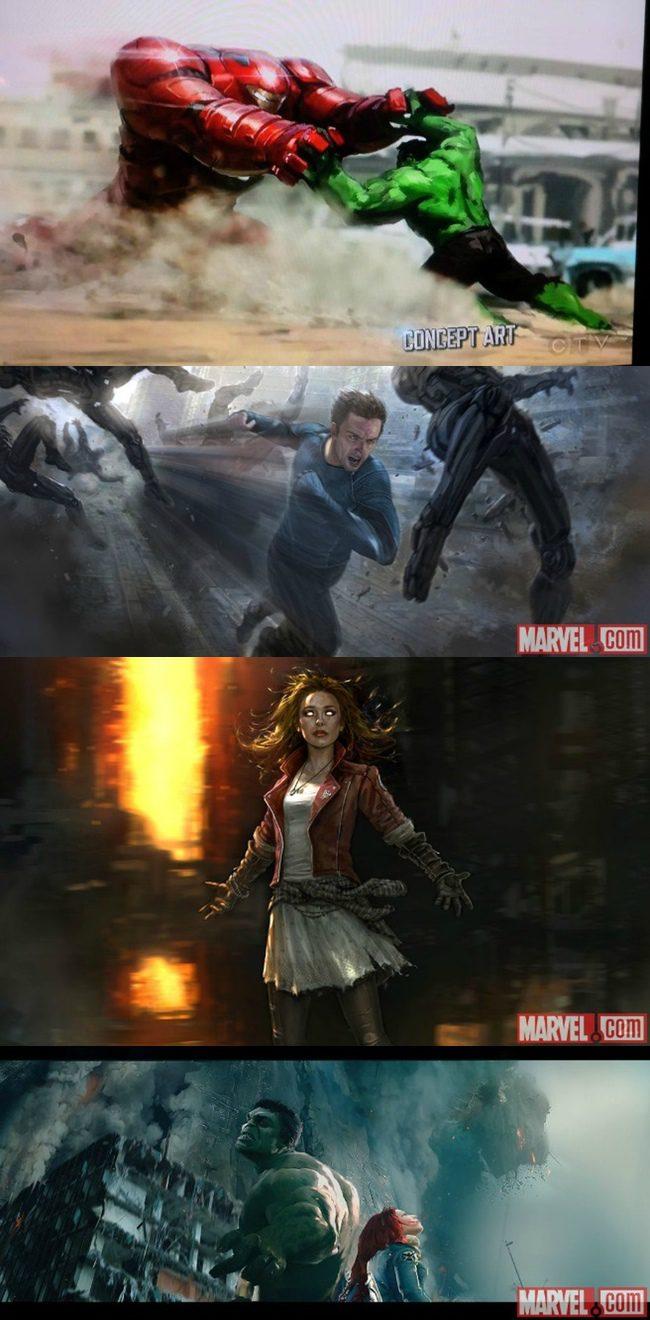 'Los Vengadores: La era de Ultron'