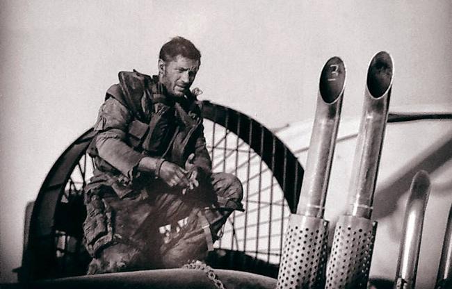 Tom Hardy en Mad Max: Fury Road