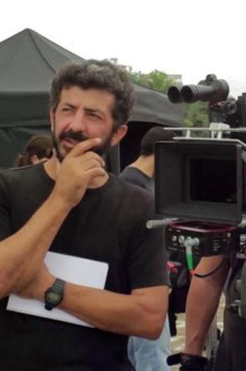 Alberto Rodríguez en el rodaje de La isla mínima
