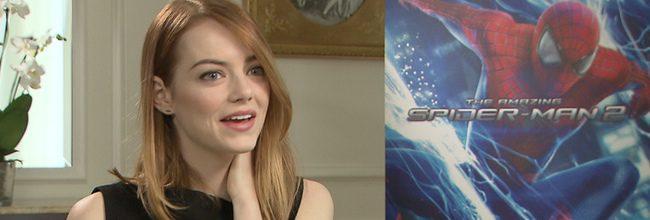 Entrevista a Emma Stone, de 'The Amazing Spider-Man 2: El poder de Electro'