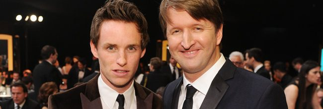 Eddie Redmayne y Tom Hooper