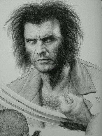 Mel Gibson como Lobezno
