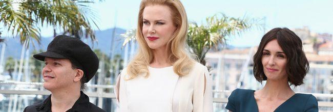 Olivier Dahan, Nicole Kidman y Paz Vega en Cannes 2014