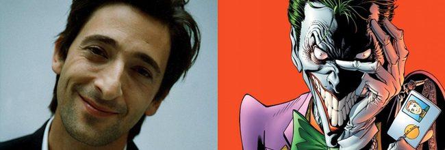 Adrien Brody y el Joker