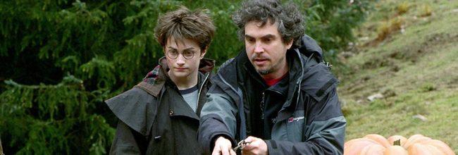 Daniel Radcliffe y Alfonso Cuarón