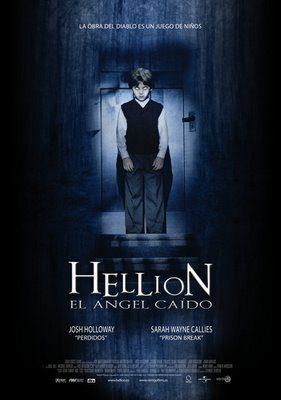 Cartel en castellano de 'Hellion, el ángel caído'