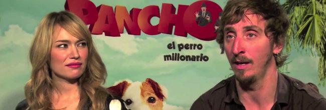 Patricia Conde e Iván Massagué de 'Pancho, el perro millonario':