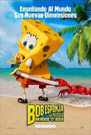 Bob Esponja un héroe fuera del agua