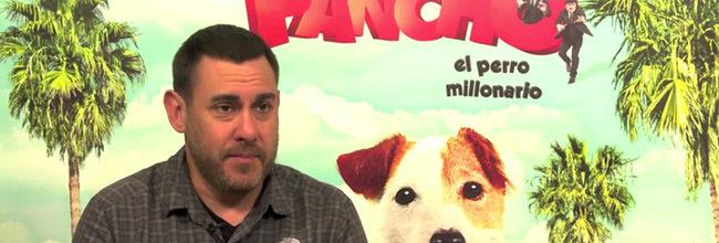 Tom Fernández, director de 'Pancho, el perro millonario':